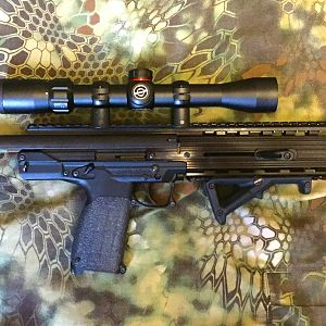 CMR-30 with a new Simmons (Bushnell) 22 Mag scope!